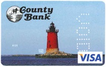 county bank credit card
